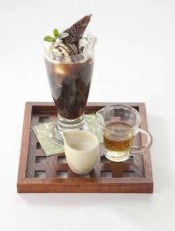 寒天コーヒーゼリーパフェ